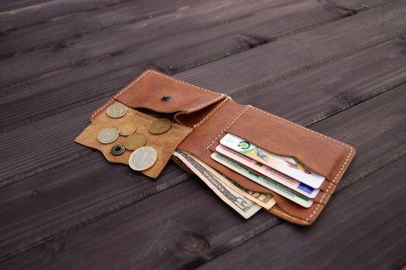 Vintage cartera cuero Billetera delgada moneda bolsillo monedero personalizado cuero carteras hombres de hombres cartera mínima cuero carteras fina cartera