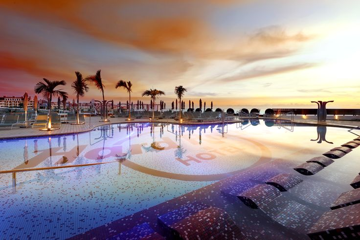 Sunset at Hard Rock Hotel Tenerife, Canary Islands, Spain - just picture yourself there