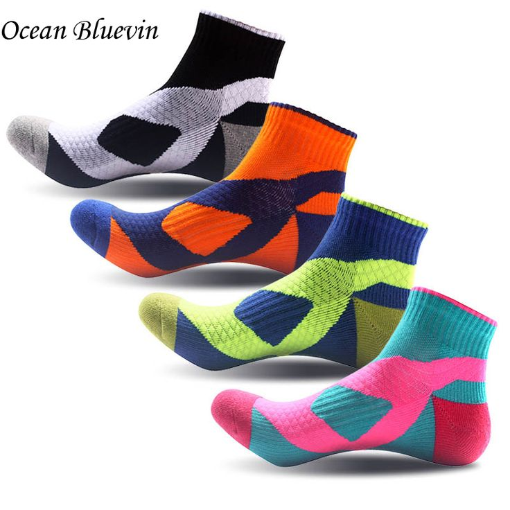 5 Pairs/ Lots Quality Breathable Comfort  Men Socks  Quick-drying Wearable Ankle Pressure Socks Bright Color Thicker Cotton Sock #Affiliate