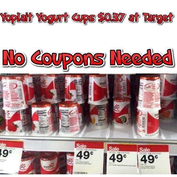 Yoplait Yogurt Cups 37 Cents at Target (no coupons needed) - http://couponsdowork.com/target-weekly-ad/yoplait-yogurt-cups-37-cents-at-target-no-coupons-needed/