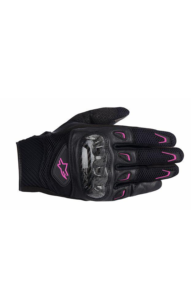 Alpinestars Stella SMX-2 Air Carbon Ladies Motorcycle Gloves - LadyBiker.co.uk