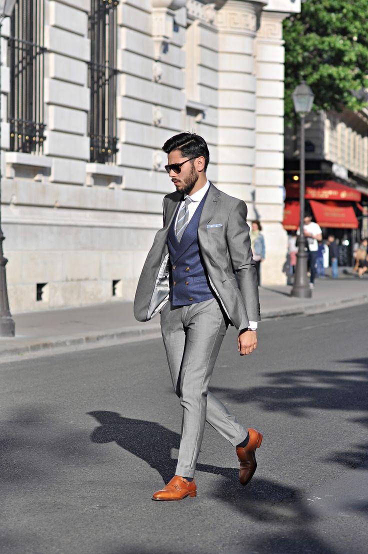 Paryż, kamizelka i Poszetka raz jeszcze: Outdersen - Męski styl