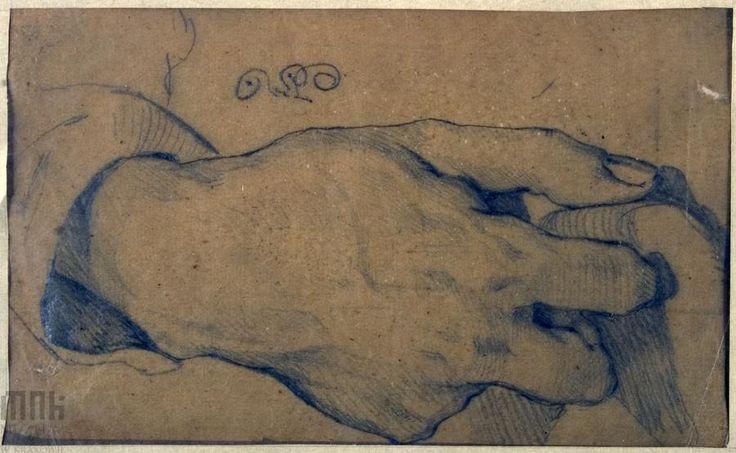 Szkic prawej dłoni