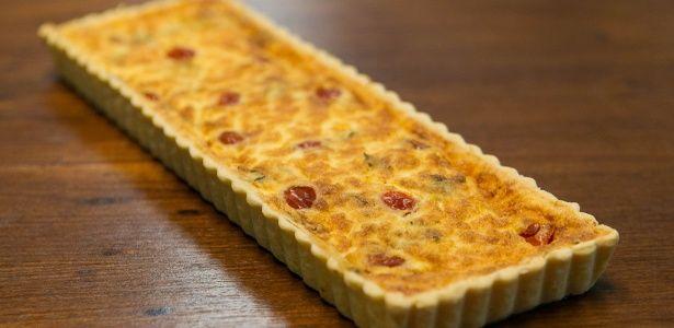 Quiche de Queijo de Cabra, Manjericão e Tomate-cereja - UOL Estilo de vida