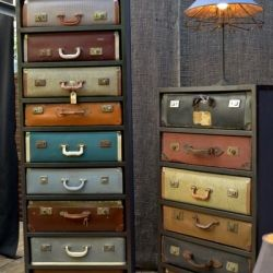 Furniture from Old Suitcases