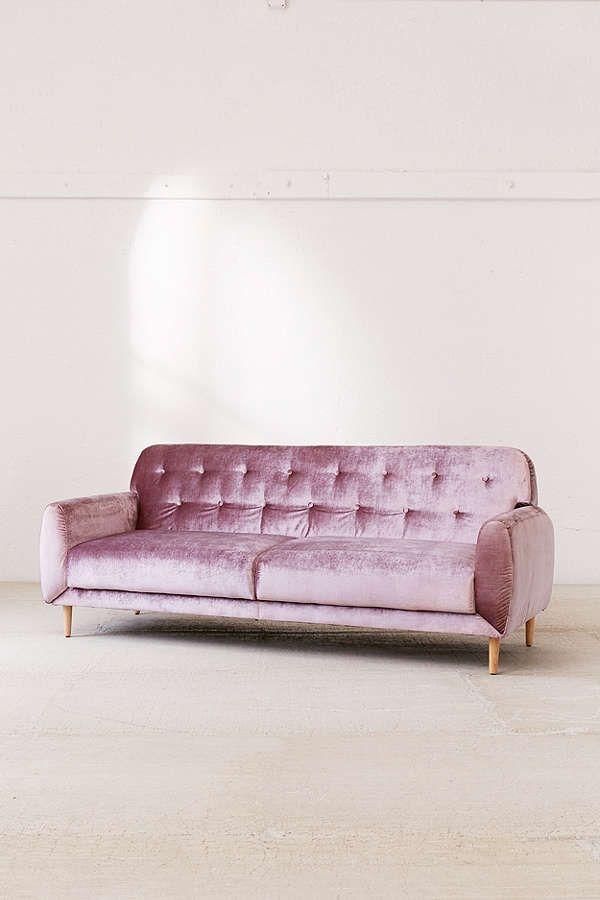 Laurel Velvet Sleeper Sofa Urban Outfitters Sleepersofa