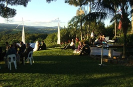 Suzanne's Hideaway - Private Resort Accommodation and wedding venue situated in the Bangalow hinterland near Byron Bay, Bangalow Lismore and nearby northern NSW World Heritage National Parks