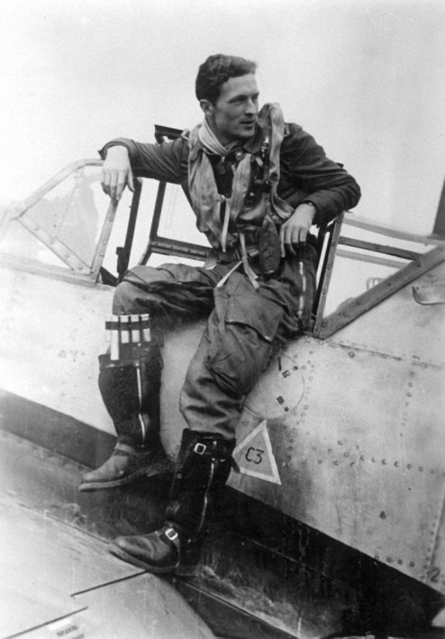 "reichsmarschall: "" A pilot sitting on the edge of the cockpit of his Messerschmitt Me 109 on an air base at the Channel coast. """