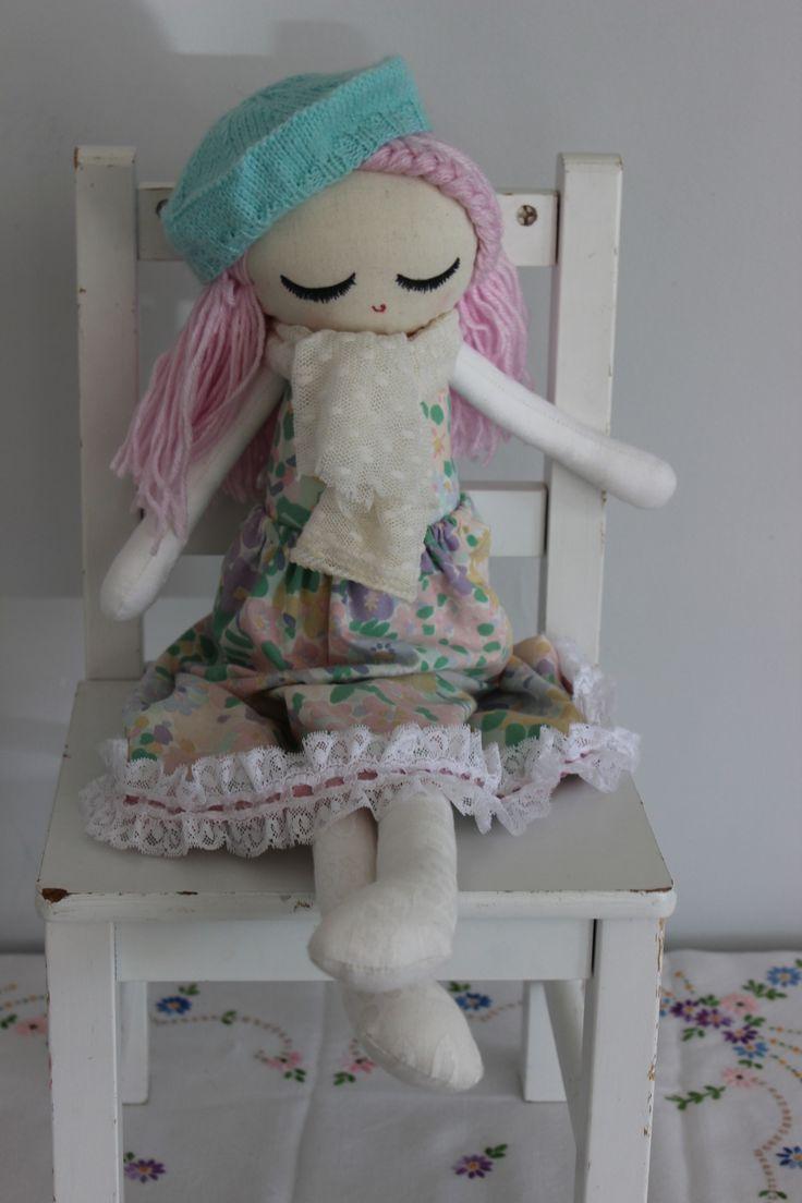 Cloth Doll Plush : Snow