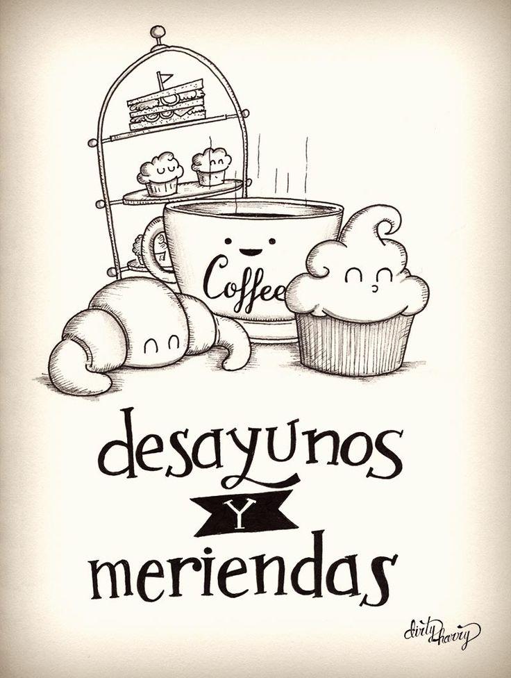 Desayunos y meriendas - www.dirtyharry.es