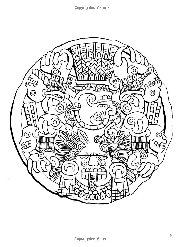 aztec pattern coloring pages - 782 best images about reference patterns on pinterest