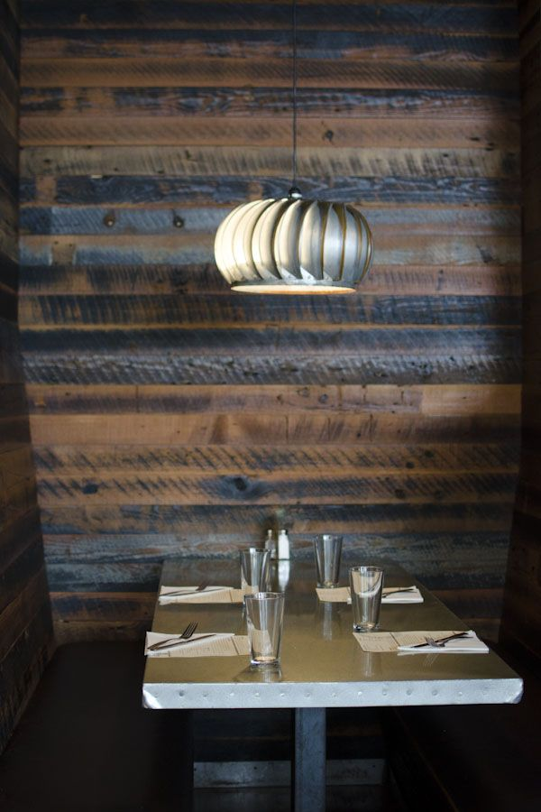 Charred Wood Wall