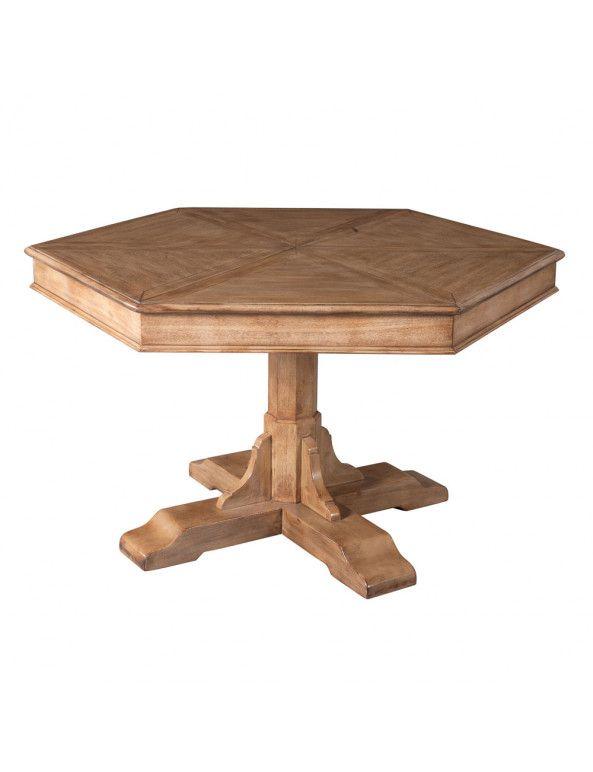Sarreid Hexagonal Jupe Dining Table Large Jupe Tables Dining Tables Dining Room Furniture Dining Table