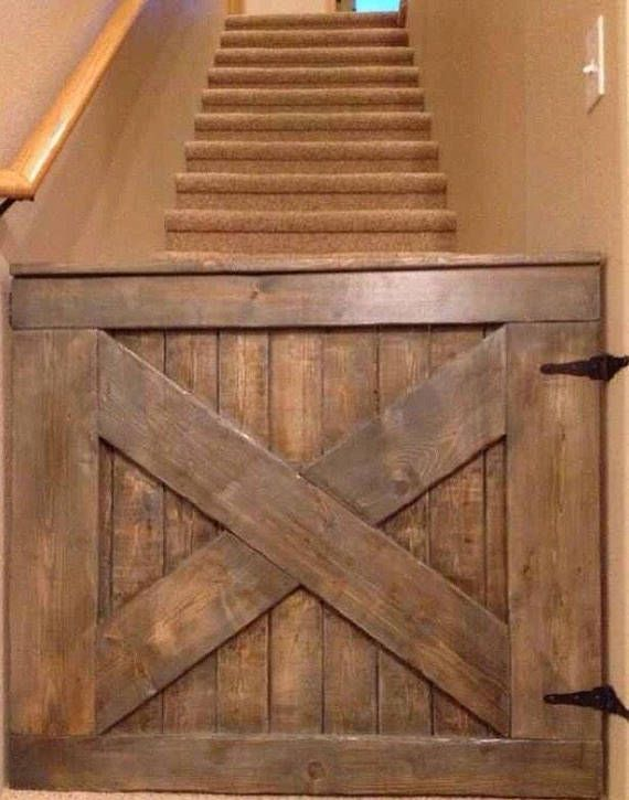 Barn Door Baby Pet Gate Custom Barn Doors Wooden Baby Gates Pallet Projects Furniture