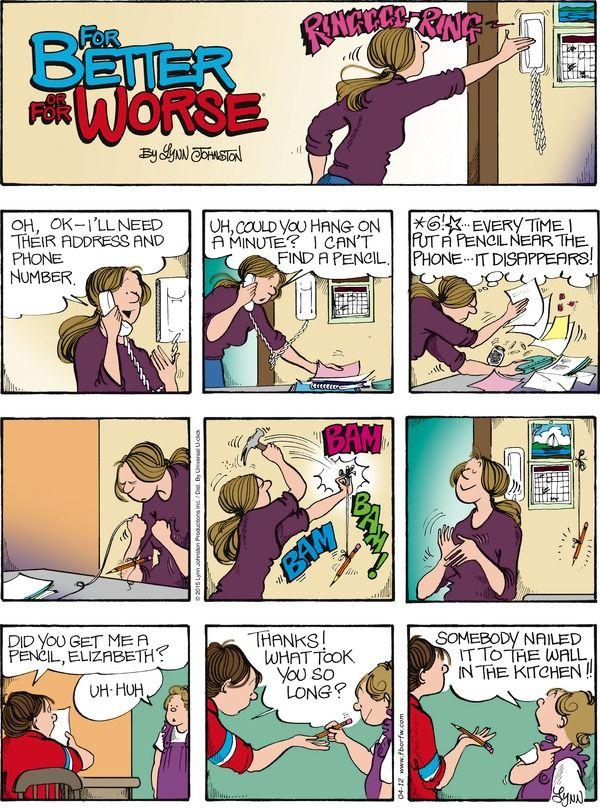 comic featuring strip worse