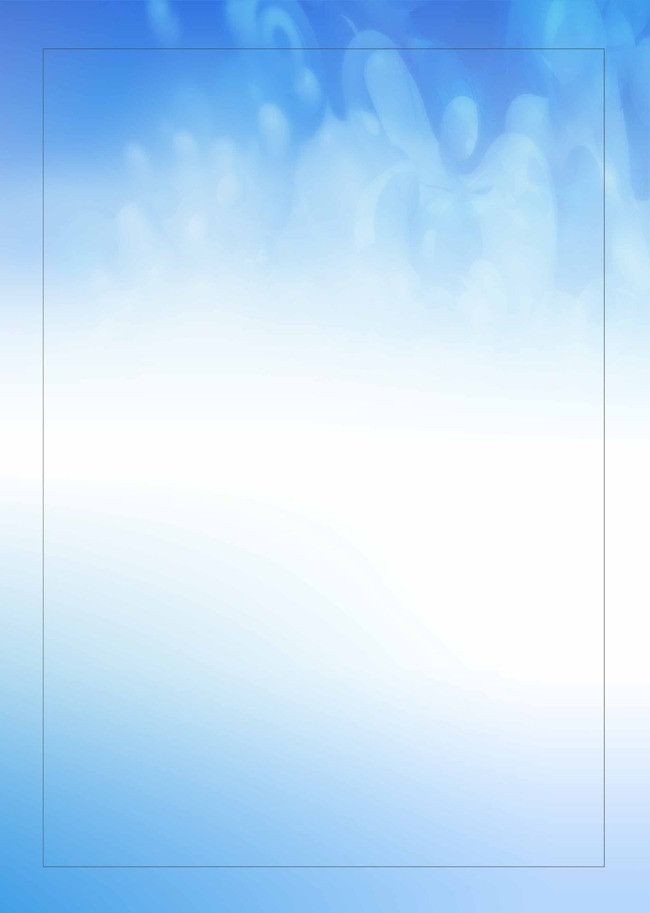 Fresh Blue Ink Watercolor Poster Background Template In
