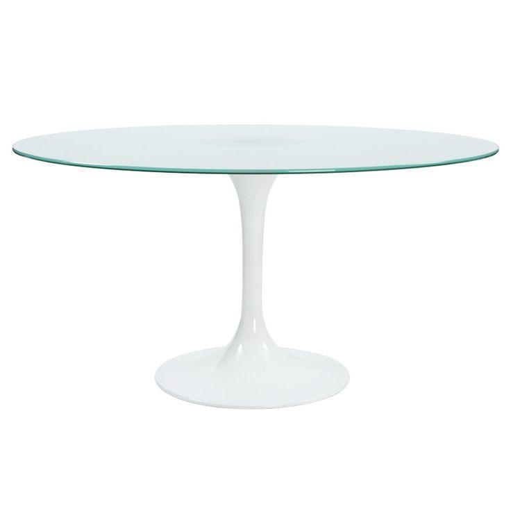 Best 25 table ronde en verre ideas on pinterest table ronde bois mobilier - Table ronde en verre trempe ...