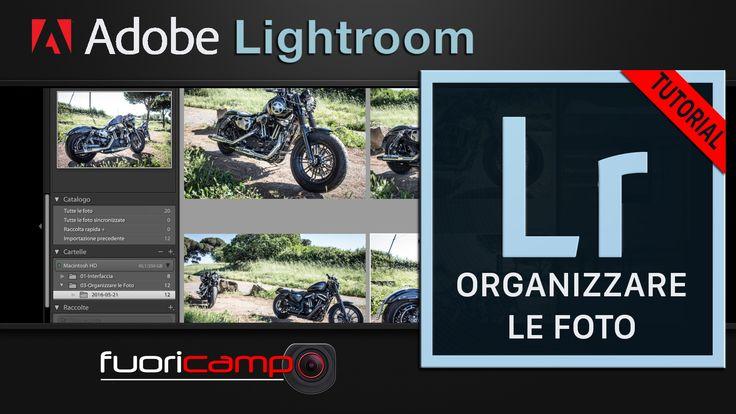 Tutorial Lightroom - CC #3 ORGANIZZARE LE FOTO Quando si fanno fotografie, si producono enormi quantità di foto. La fotografia digitale ha, di fatto, azzerato il costo per singola fotografia e introdotto il problema della gestione di grossi archivi che, con il passare del tempo, possono raggiungere notevoli dimensioni.  Quindi è bene comprendere come tratta le foto Adobe Photoshop Lightroom e quali strumenti mette a disposizione.