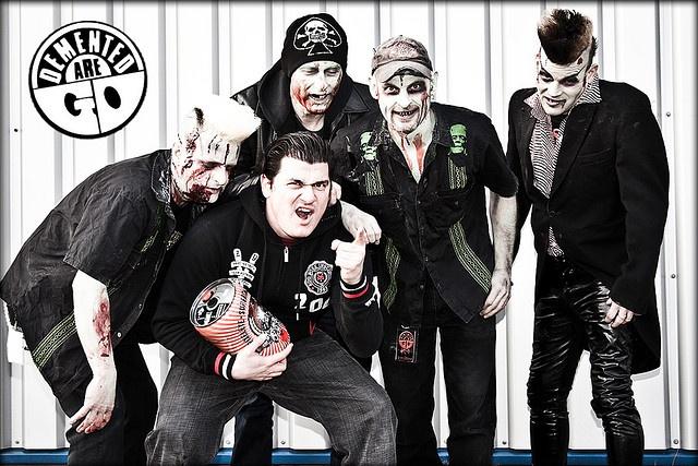 DEMENTED ARE GO...Rockabilly band I like.