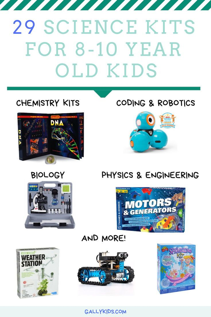 38f256908 Science kits for 8 year olds. From coding and robotics to Chemistry kits -  Some of the top-rated Science toys that are appropriate for 8 year olds .