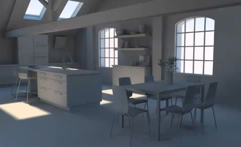 Rhino - Interior Scene Daylight Setup with VRay Tutorial