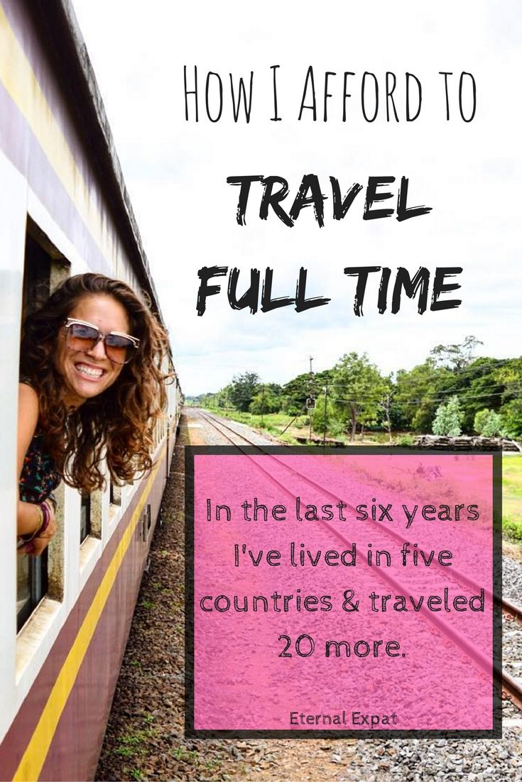 How I have afforded to live abroad for the last six years and travel for  months 24beb04c85