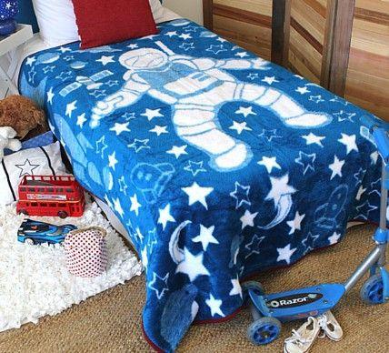 Astronaut Adventure Boys Blanket