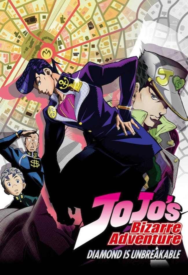 The Most Unique Art Styles In Anime Jojo Bizarre Jojo S Bizarre Adventure Anime Jojo Bizzare Adventure