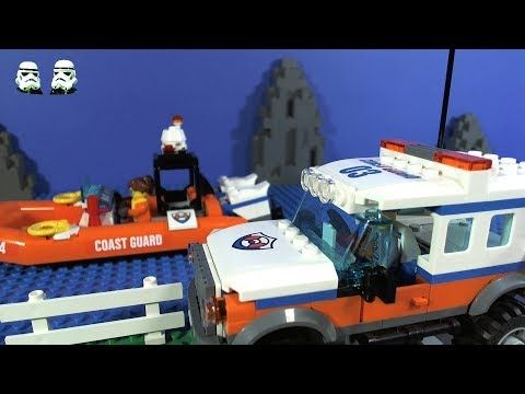 LEGO Coast Guard 4x4 Response Unit Stop Motion