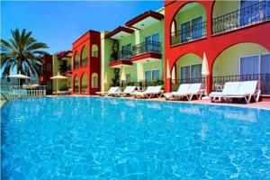 #Antalya - #AntalyaHotels - #Alanya - Alaaddin Beach Hotel - http://www.antalyahotels724.com/alanya/alaaddin-beach-hotel - Hotel Information:  Address: Atatürk Cad. Kleopatra Beach No:161, 07400 Alanya, Alanya        Alaaddin Hotel, located on Kleopatra Beach, provides rooms with balconies and free Wi-Fi within the public areas. It is about in landscaped gardens and options an outside swimming pool. The air-conditioned rooms at Alaaddin Beach Hotel