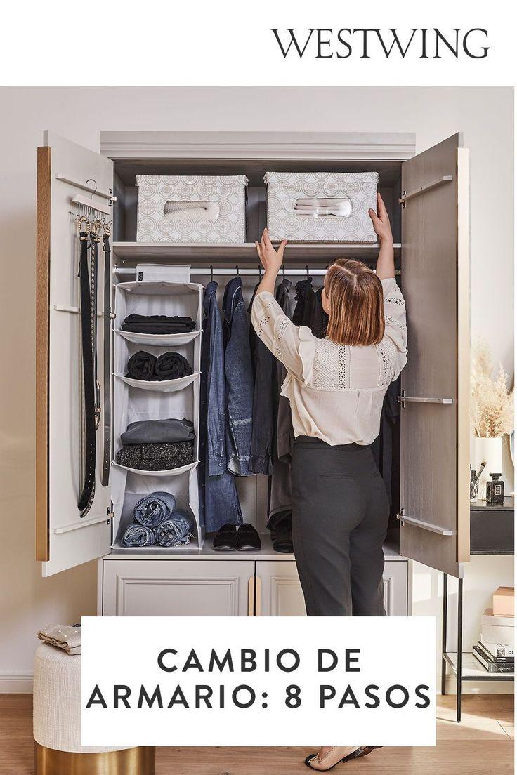 Sabemos que el cambio de armario puede ser una tarea larga y complicada, ya que en muchas ocasiones no sabemos que debemos guardar, como debemos guardarlo o donde podemos colocarlo. Por ello en Westwing te ayudamos a organizarte con estos 8 sencillos pasos podrás realizar el cambio de armario en un abrir y cerrar de ojos. // Organizacion Hacks Marie Kondo Verano Ropa Moda Tendencias Ahorrar Espacio Armario Sweet Home, Storage, Furniture, Home Decor, Lifestyle, Outfits, Cleaning Supplies, Cleaning Tips, Organize Fridge