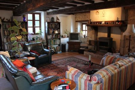 Farmhouse for sale in Magnac-Laval, France : Renovated Farm House - 4 beds, pool, 2 barns, views.