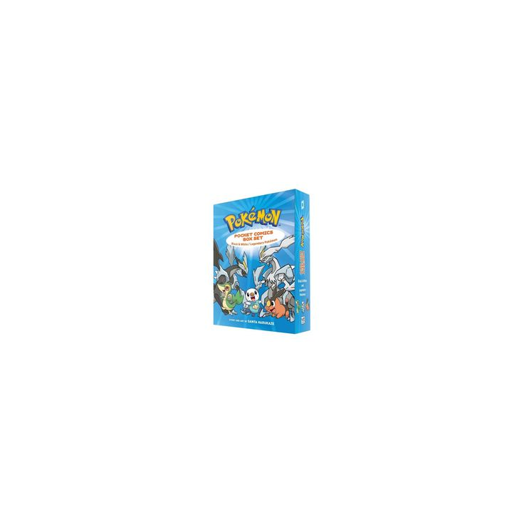 Pokemon Pocket Comics : Black & White / Legendary Pokemon (Reprint) (Paperback) (Santa Harukaze)
