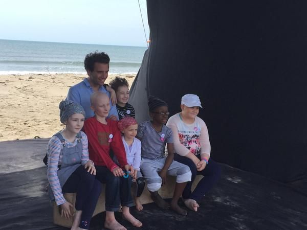 Mika in Camargue: a special week end for Imagine For Margo - Enfants sans Cancer (9-10 May, 2015)