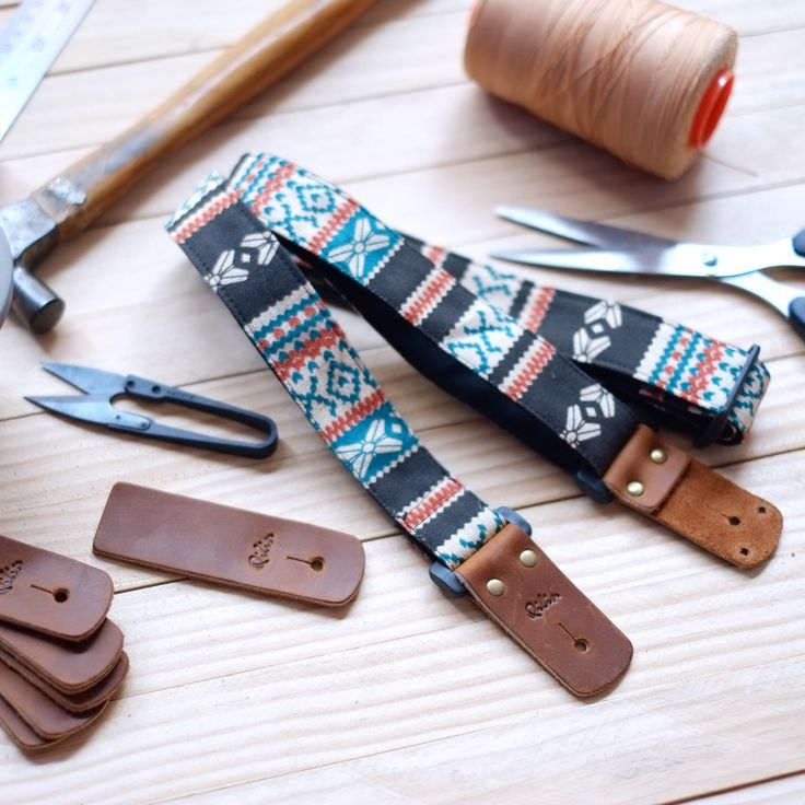 Dark Brown Ukulele Strap 3in1 ~   Ukulele Strap Product including: 1 Ukulele Strap, 1 Hood, 1 Leather Rope Ukulele Strap can be 3 pattern in 1 Strap :-  Enjoy Our Ukulele Strap 3 in 1 Hand Craft :)