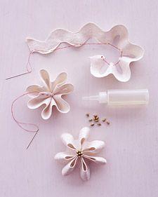 Rick rack flowers / Flores de sianinha(zig zag<)-zag