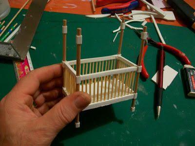 ! ♥ Küçük Şeyler - Minyatür, Hobi ♥ !: Bebek karyolası imalatı..