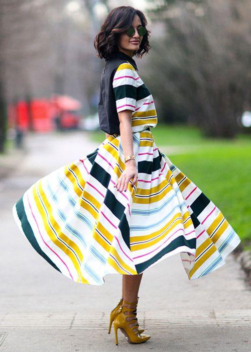 Pretty summer dresses: Street style looks