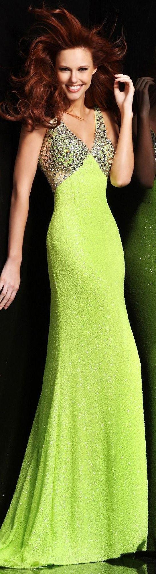 Color fashion Glam ... Neon dress