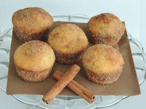 Škoricové muffinky plnené Nutellou