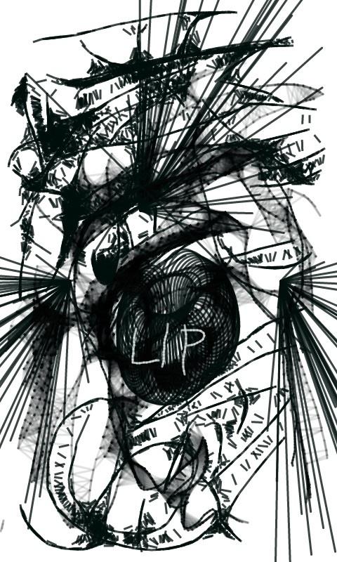 LIP totem by Susie Pecan