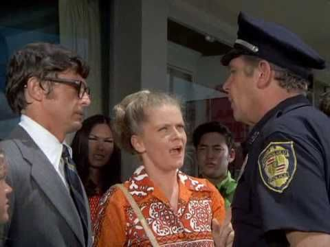 (38) Joyce Van Patten  & Andy Griffith /HAWAII FIVE 0 1972 / Clip 1 - YouTube