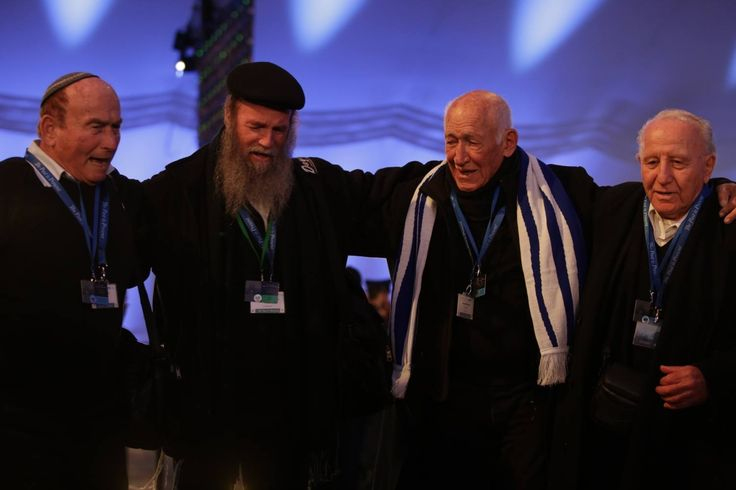 70th anniverary of the liberation of Auschwitz. Over 300 Auschwitz Survivors were present during the commemoration event.