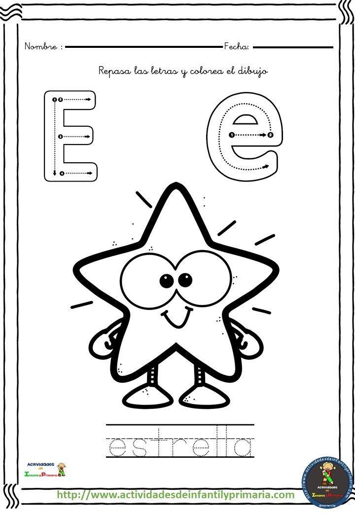 Coleccion De Fichas Traza Y Colorea Actividades De Lectura Preescolar Actividades Del Alfabeto En Preescolar Ensenanza De Las Letras