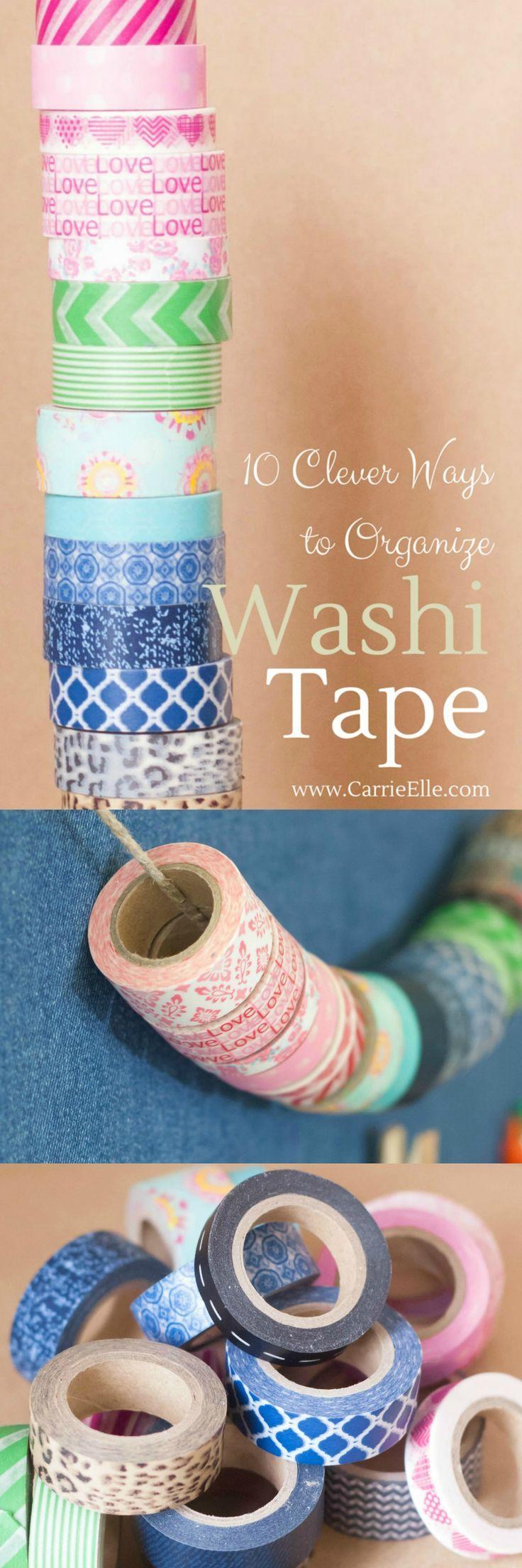 1000 ideas about washi tape storage on pinterest washi - Washi tape ideas ...