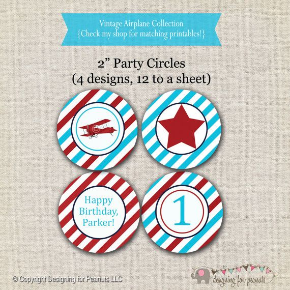 Vintage Airplane Party Printables Airplane Birthday Airplane: 1000+ Ideas About Vintage Airplane Party On Pinterest
