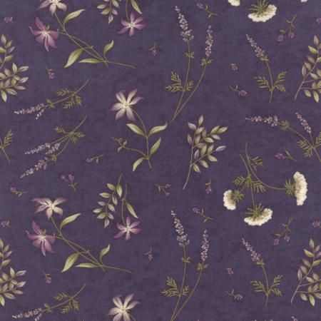 The Potting Shed Violet 6626 16 Moda Fabrics and Holly Taylor