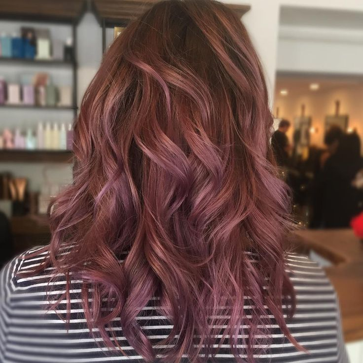 Love This Chocolate Mauve Shade Must Have Hair