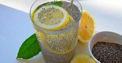Come abbinare chia e limone per disintossicare l'organismo e perdere molto peso