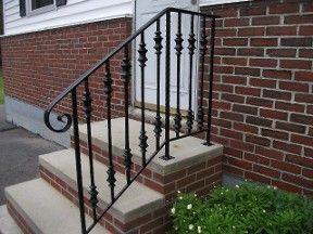 Best 25+ Wrought iron porch railings ideas on Pinterest | Porch ...